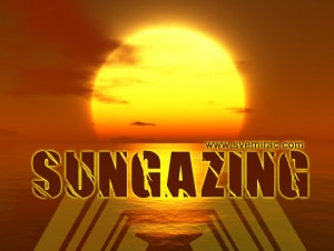 Sungazing - solarna joga