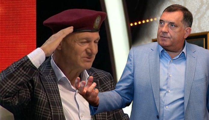 Milorad Dodik i Saban Saulic