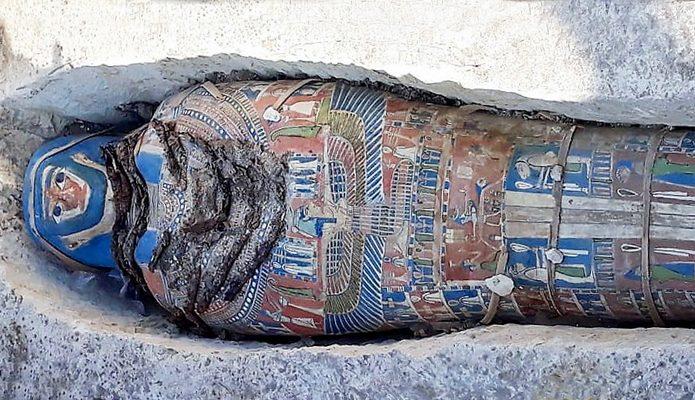 Otkrivene egipatske mumije
