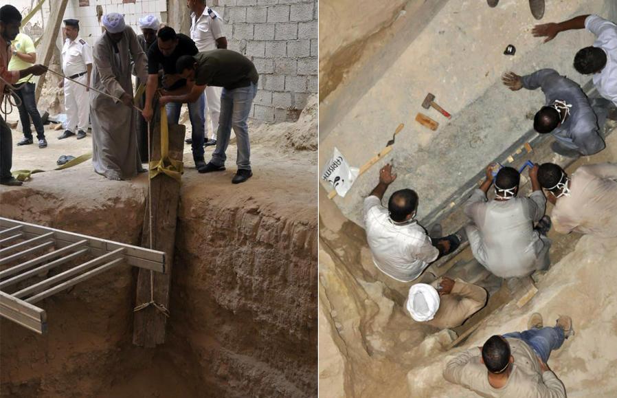 Pronalazak groba u Egiptu