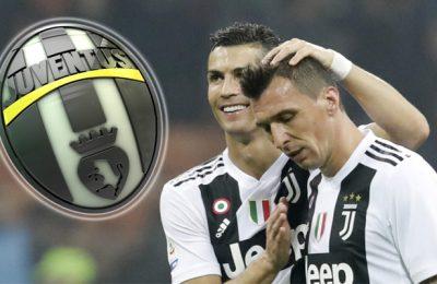 Mario Mandžukić i Ronaldo Juventus