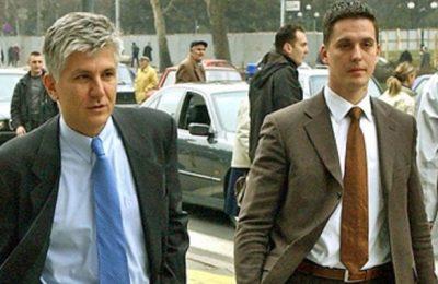 Zoran Đinđić i Milan Veruović