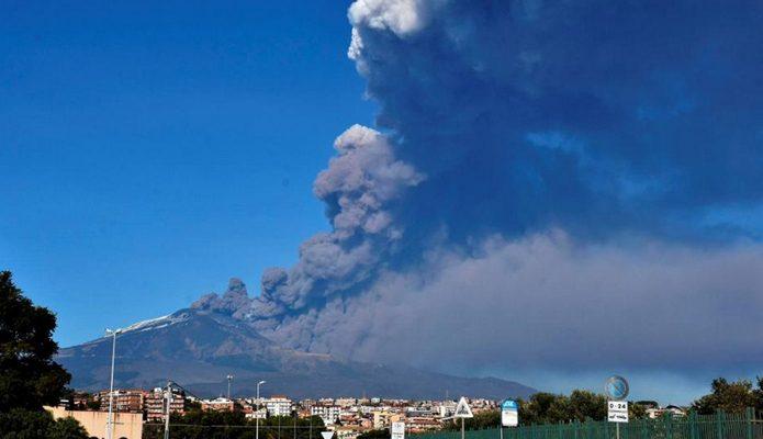 vulkan Etna u Italiji