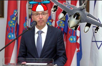 Damir Krstičević ministar obrane i avion F-16