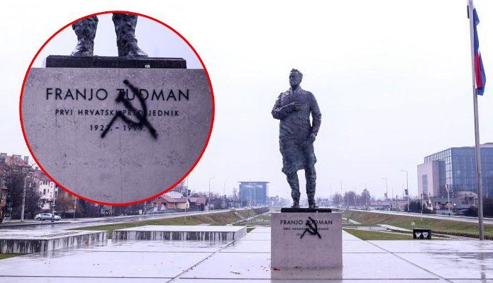 Spomenim Franji Tudjmanu grafit