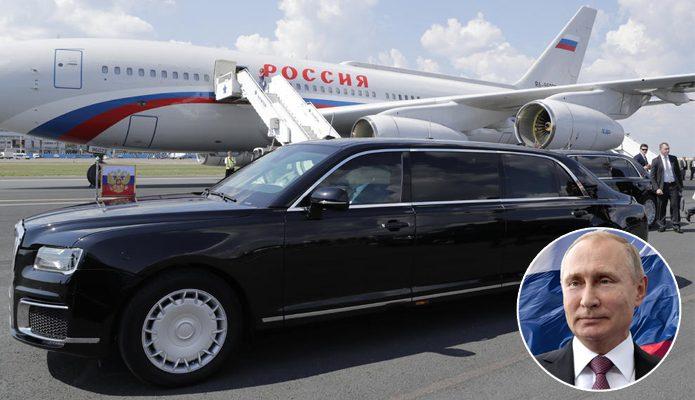Vladimir Putin u Srbiji