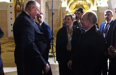 Vojislav Šešelj i Vladimir Putin