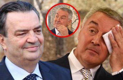 Duško Knežević i Milo Đukanović