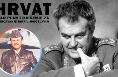 Veljko Kadijevic i Zvonko Jurjevic