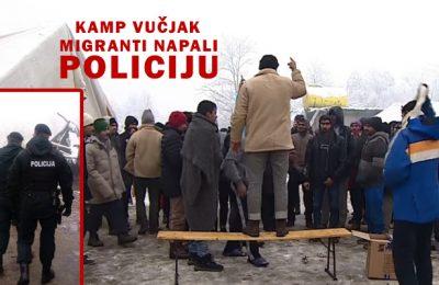 Kamp Vučjak Bihać
