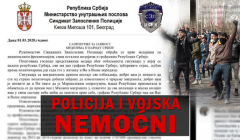 Srbija migranti sindikat policije
