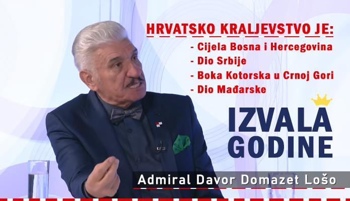 Admiral Domazet Lošo - Karta hrvatsko kraljevstvo